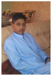 Asfand Khan Age: 15 Class: 10 Son of Ajoon Khan and Shahana Bibi Siblings: Mohammad Wadan Khan (5) and Mahrosha Khan (12)