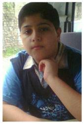 Ailian Fozan Age: 14 Class: 9 Son of Muhammad Fozan Shafi and Ayesha Fozan Siblings: Famia Fozan (16) and Fiza Fozan (9)
