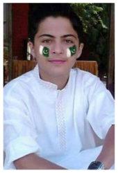 Mubeen Afridi Age: 16 Class: 10 Son of Farooq Shah and Shaheen Afridi Siblings: Maleha Afridi (18) and Areeba Afridi (10)