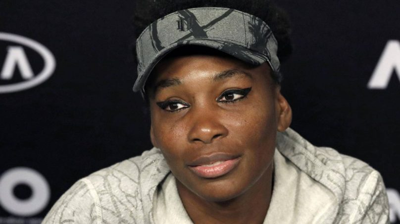 Venus Williams will not be charged in Florida fatal accident: report