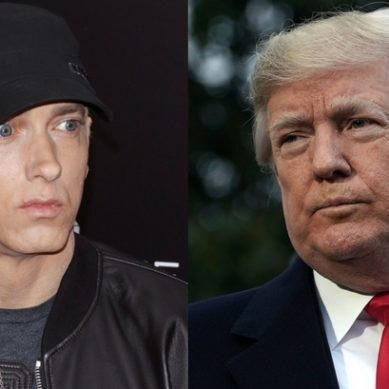 Eminem says Trump makes his 'blood boil,' hopes he 'gets impeached'