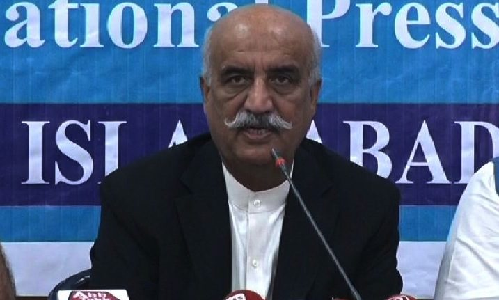 Khursheed Shah raises questions over Sharif brothers' visits to Saudi Arabia