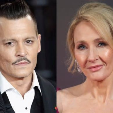 J.K. Rowling defends Johnny Depp casting in next 'Fantastic Beasts'