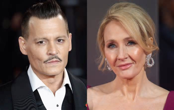 J.K. Rowling defends Johnny Depp casting in next 'Fantastic Beasts'
