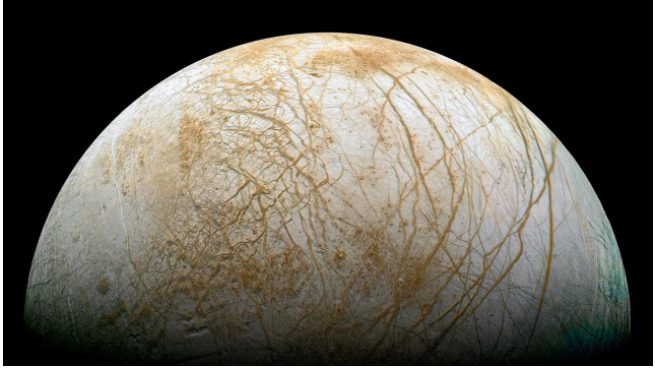 Tectonic ice sheets may be 'feeding' Europa's under-ice ocean with the seeds of life
