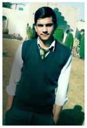 Syed Zulqarnain Age: 16 Class: 9 Son of Kishwar Sultan and Syed Shah Siblings: Faheem Shah (23), Zakir Shah (21), Radia Shah (20) and Saira Shah (18)
