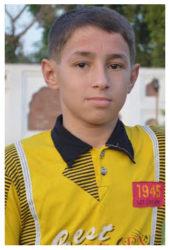 Hasnain Sharif Age: 14 Class: 8 Son of Mr. and Mrs. Sharif Gul