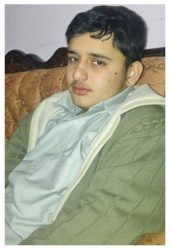 Sher Shah Age: 16 Class: 10 Son of Salma and Mohammad Sohail Khattak Siblings: Ahmad Ali Shah (14) and Ayesha Gulali (11)