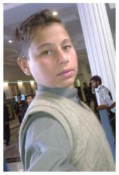 Saif Ullah Durrani Age: 14 Class: 8 Son of Tehseen Ullah Durrani and Falak Naz Siblings: Sana (19), Hafsa (17) and Ammara (11)