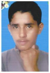 Syed Mujahid Hussain Shah Age: 14 Class: 8 Son of Zaib Hussain Shah and Sadia Bibi (late) Siblings: Shahid Hussain Shah (15), Majid Hussain Shah (11), Maryum (9), Maria (7) and Fawad (1)