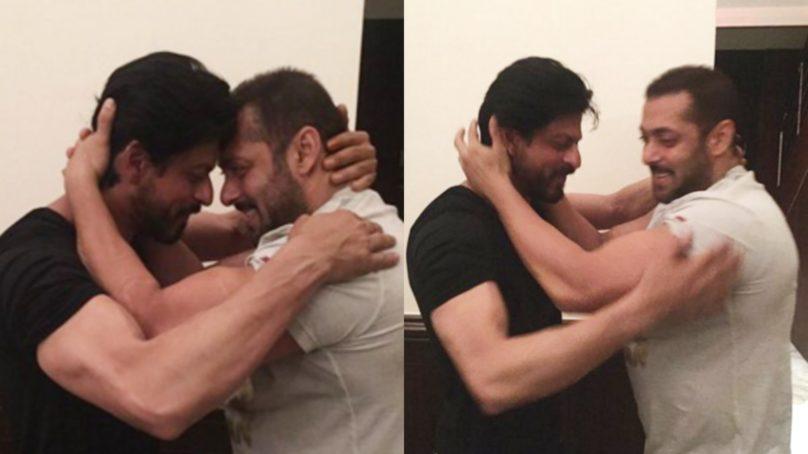Here's how Shah Rukh Khan wished Salman Khan on his birthday