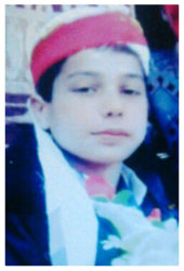 Zeeshan Ali Age: 15 Class: 9 Son of Hav Abdul Qayyum and Samina Bibi Siblings: Saman Qayyum (13), Sidra Qayyum (11), Ayesh Qayyum (7) and Fatima Qayyum (4)