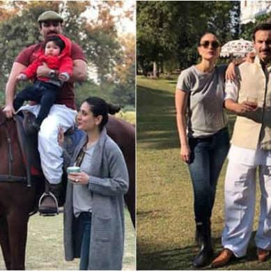 Saif and Kareena are gearing up for Taimur's royal birthday at Pataudi Palace, see photos