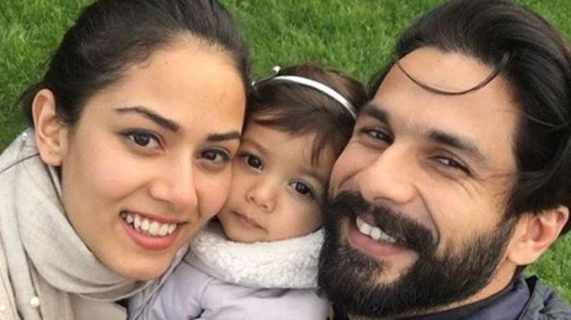 Shahid Kapoor, wife Mira Rajput and daughter Misha's perfect family selfie
