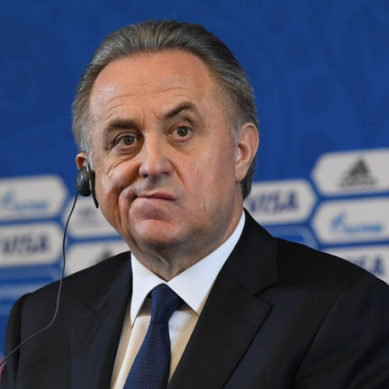 Mutko steps down as Russia Football Union chief