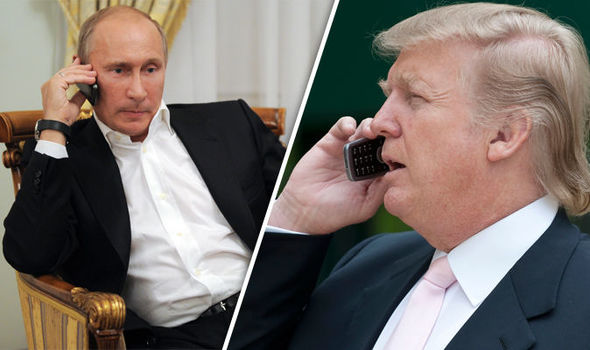Trump and Putin discuss by telephone how to resolve the conflict with North Korea