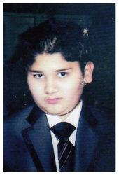 Haider Amin Age: 15 Son of Muhammad and Sofia Amin Siblings: Saba (19), Laiqa (8) and Laiba (6)