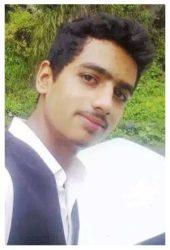 Usman Sadiq Age: 16 Class: 10 Son of Mrs. and Mrs. Muhammad Sadiq