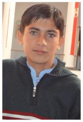 Zeeshan Shafique Age: 15 Class: 8 Son of Hav. (retd) Muhammad Shafique and Bismillah Jan Siblings: Yasir Shafique (12), Danial Shafique (9) and Masooma Shafique (3)
