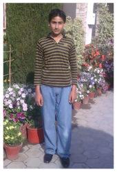 Fahid Hussain Age: 13 Class: 8 Son of Hussain and Seema Nawab