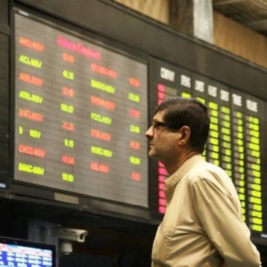 KSE-100 plunges over 600 points in intra-day trading
