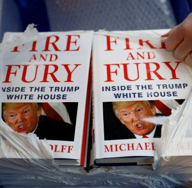Scathing Trump book 'Fire and Fury' heads to television
