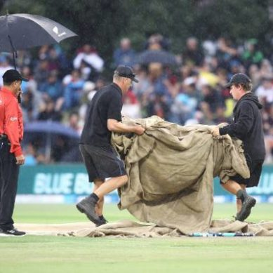 Rain ruins second T20 in Mount Maunganui