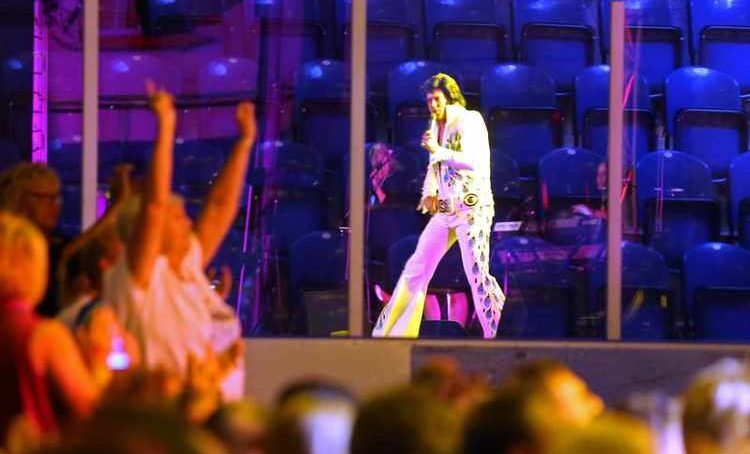 Fans shake, rattle and roll at Australia's Elvis festival