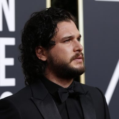 Stars say 'Time's Up' wearing black on the Golden Globes red carpet