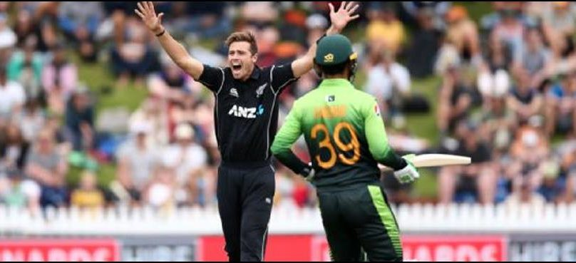 Pakistan set 106 target against dominant New Zealand in first T20I