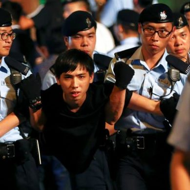 Hong Kong democracy leader Joshua Wong jailed a second time for 2014 protest