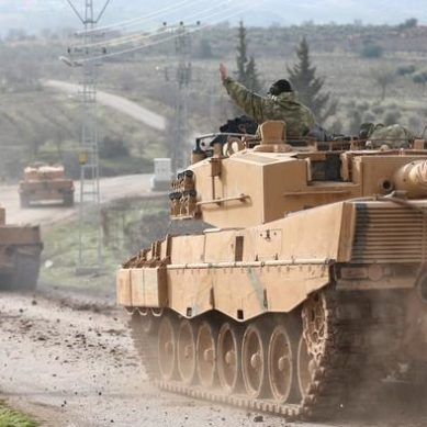 Turkish army crosses the border to attack Kurdish enclave in Syria