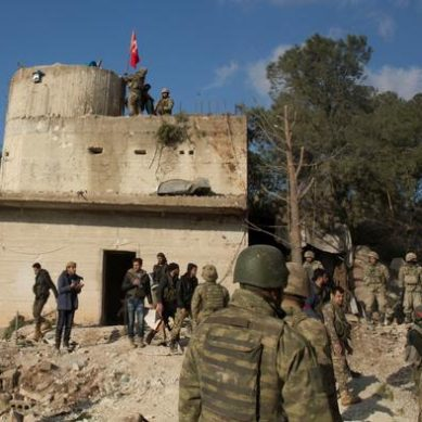 Turkey intensifies campaign in Syria against the Kurdish militia