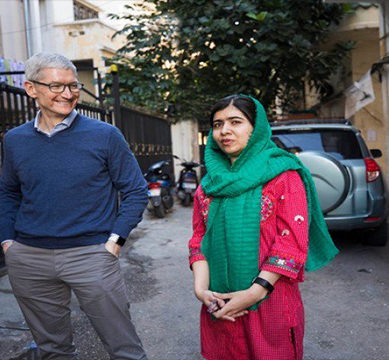 Apple partners with Malala Fund to fight for girls' education