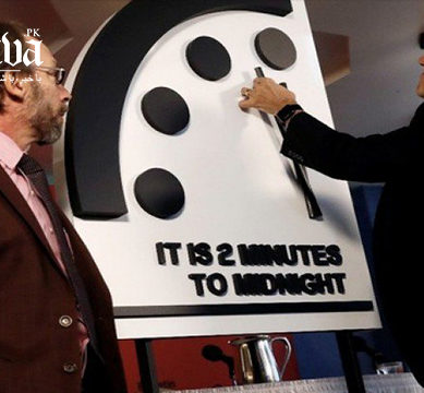 'Doomsday Clock' closest to midnight since Cold War over nuclear threat