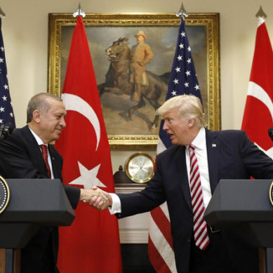 Trump urges Turkey to limit military actions in Syria