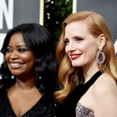 Jessica Chastain helped Octavia Spencer get a pay raise