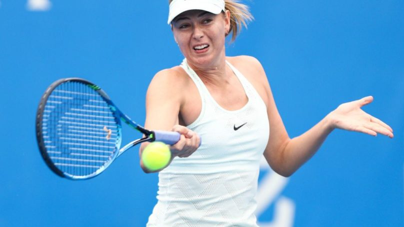 Sharapova forced to dig deep by Riske, Ostapenko loses