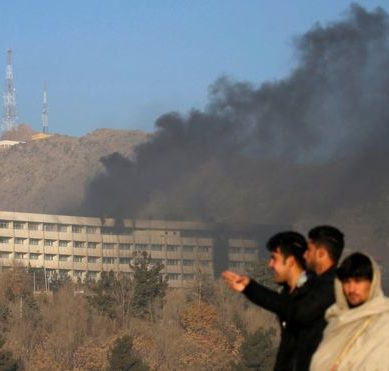 Afghanistan: At least 18 civilians die in assault on a luxury hotel in Kabul that lasts for more than 12 hours