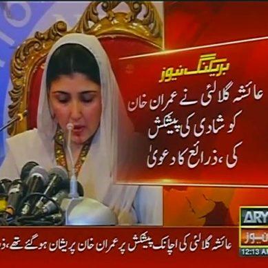Ayesha Gulalai Wanted To Marry Imran Khan