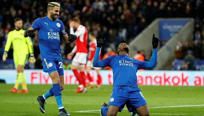 Iheanacho's brace helps Leicester through to FA Cup fourth round
