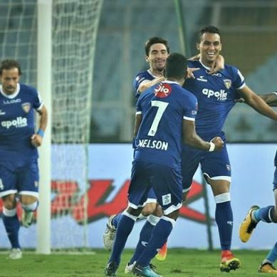 ISL 2017/18: Chennaiyin beat ATK 2-1 to climb to top of league standings