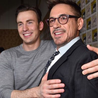 Chris Evans feels Robert Downey Jr is irreplaceable as Iron Man
