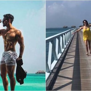 Tiger Shroff and Disha Patani flaunt their beach bodies and give holiday goals this New Year