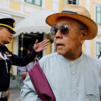 Thai court drops royal insult case over ancient king