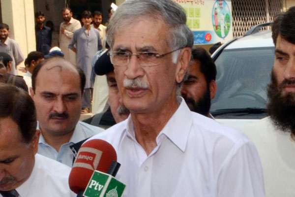 Khattak's presence at Difa-i-Pakistan Council rally stirs controversy