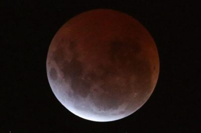 Super blue moon to reveal evolution of moon's surface