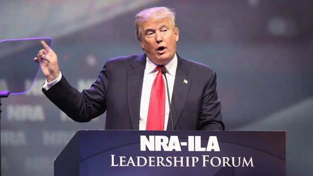 What does Donald Trump have to do with the bankruptcy of Remington, the oldest arms manufacturer in the United States?