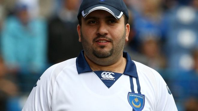 Sulaiman al Fahim, the man who stole money from his wife to buy the Portsmouth football club when he was in the Premier League in England