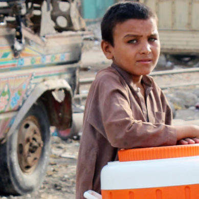 A gift from the God is unsafe on Streets: Street Children in Pakistan